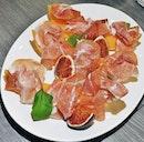 Prosciutto Con Melone & Fichi (SGD $25) @ In Piazza.