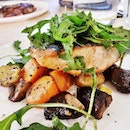 Pan-Grilled Salmon (SGD $21) @ The MeatHouse By E18hteen Chefs.