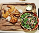 Deep-Fried French GG Poulet (SGD $22) @ The MeatHouse By E18hteen Chefs.