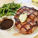 Beef Uruguayan Ribeye Steak, Black Angus, 300g (SGD $26.50) @ The MeatHouse By E18hteen Chefs.
