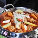 Spicy Chicken Stew (SGD $15.90 / $29.90) @ Bonchon Chicken.