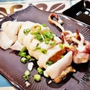 Barbecued Squid With Garlic (SGD $10) @ Sichuan Kungfu Fish.