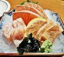 Shasimi Salmon 3-Kinds (SGD $26.70) @ Sun With Moon.