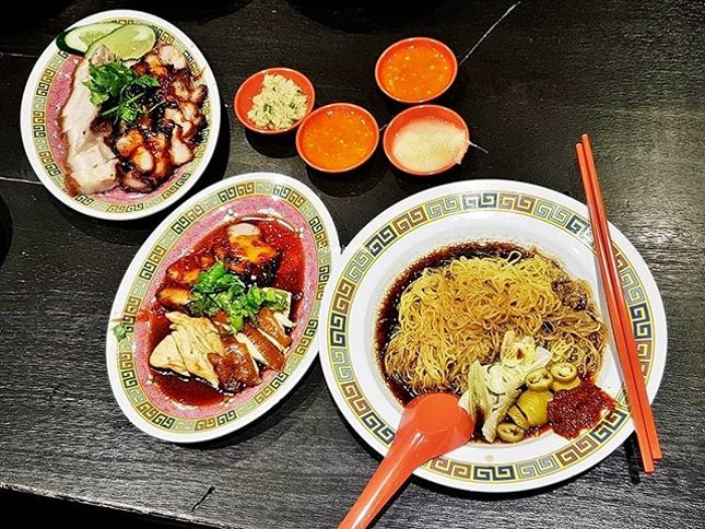Meal (SGD $12) @ Hai Kee.