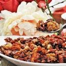 Sichuan Spicy Diced Chicken (SGD $22) @ Silk Road Restaurant.