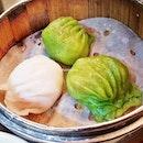Crystal Prawn Dumplings (SGD $3.60) @ Teochew Cuisine Restaurant.