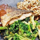 Grilled Atlantic Salmon Fish Fillet (SGD $16.80) @ The Soup Spoon Union.