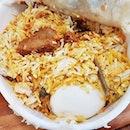 Dum Mutton Biryani (SGD $17) @ Zaffron Kitchen.