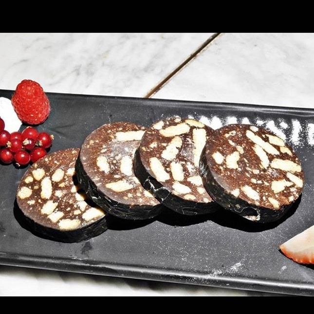 Chocolate Salami (SGD $120++ Omakase Set) @ Grissini.