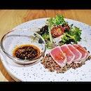 Smoked Tuna Tataki Salad (SGD $21) @ Halcyon & Crane.
