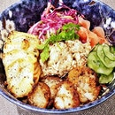 The Bounty Of The Sea Mixed Grain Bowl (SGD $24) @ The Populus.