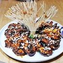Caramel Prawns (SGD $30 / $50 / $70) @ Famous Kitchen.