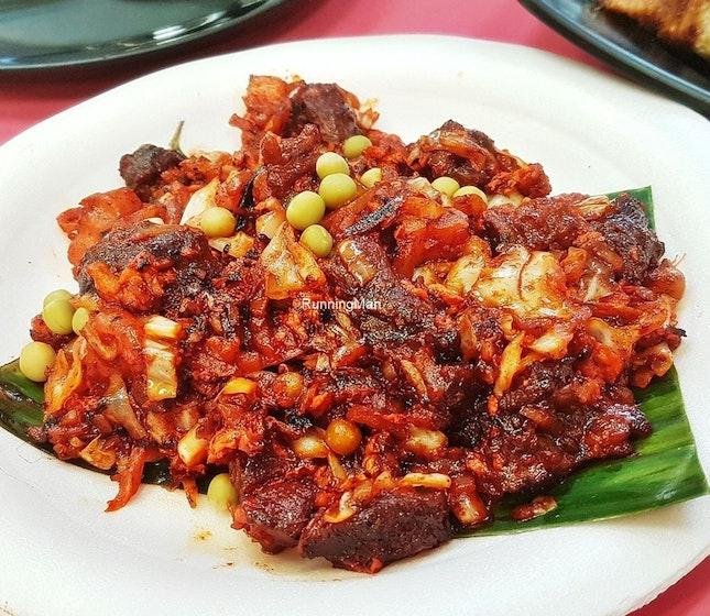 Mutton Steak (SGD $7) @ Zam Zam Restaurant.