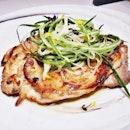 Lemongrass Chicken (SGD $20) @ Cavemen Restaurant & Bar.