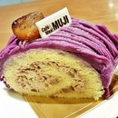 Sweet Purple Potato And Chestnut Roll (SGD $7.90) @ Muji Cafe.