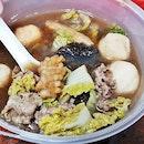 Mushroom Soup (SGD $10.70 or 372g) @ Gong Yuan Ma La Tang.