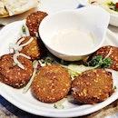 Falafel (SGD $13.90) @ Tabbouleh Restaurant.