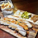 Sausage Platter (SGD $32) @ Fountain Microbrewery.