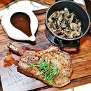 Char-Grilled Kurobuta Pork Chop (SGD $36) @ Beast & Butterflies.