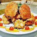 Mongolian Crab (SGD $49.90 for 3 crabs) @ Diamond Kitchen.