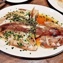 Steamed Red Grouper Fish Peppercorn Style (SGD $8 per 100g) @ Yun Nans Restaurant.