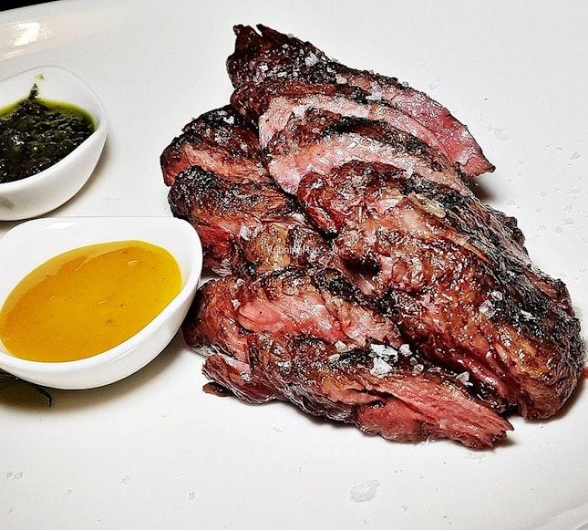 F1 Wagyu Beef Hanger Steak Set (SGD $38) @ MeatSmith.