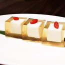 Osmanthus Jelly With Almond (SGD $6.80) @ Si Chuan Dou Hua Restaurant.