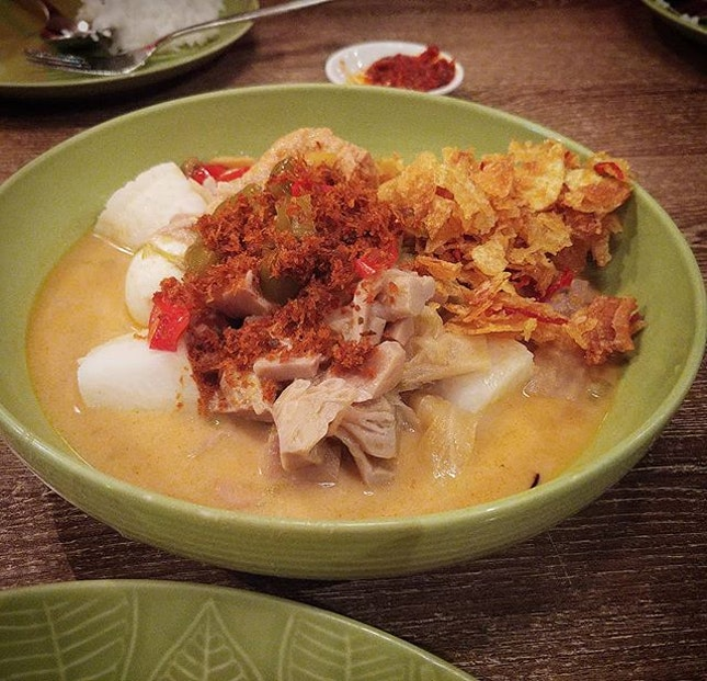 Lontong Sayur Medan $6.80 from @indochili .