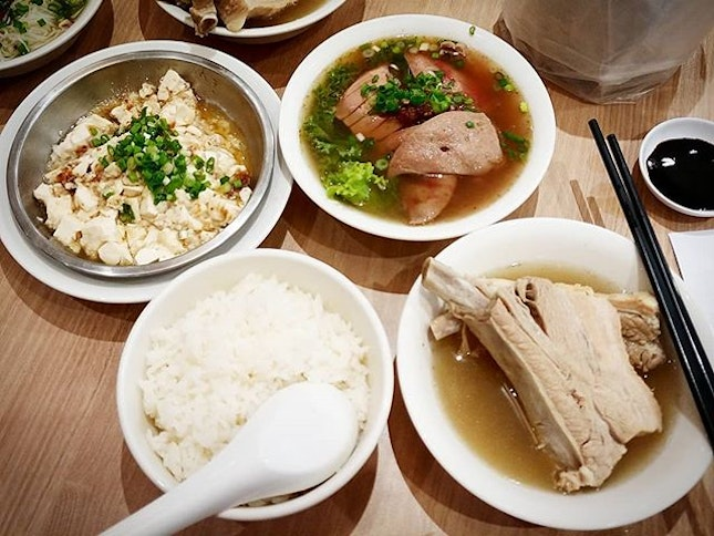 Ya Hua Bak Kut Teh, one of our go to place for the peppery pork ribs soup.