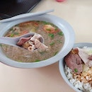 Delicious lunch from Soon Huat Pig's Organ Soup $5.50 for the soup and $0.5 for the rice.