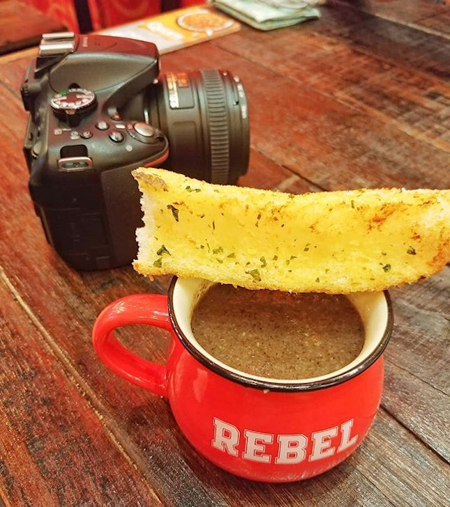"""Feeling """"REBEL""""lious today and around Orchard area, drop by and visit REBEL Sandwich stote at @111somersetsg ."""
