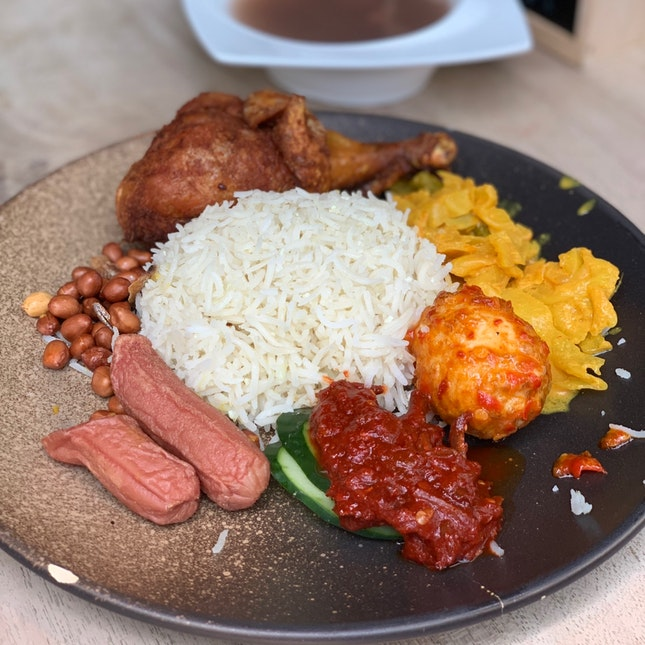 Nasi Lemak Chicken ($4.93)