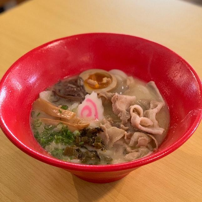 Tonkotsu Udon ($12.80)