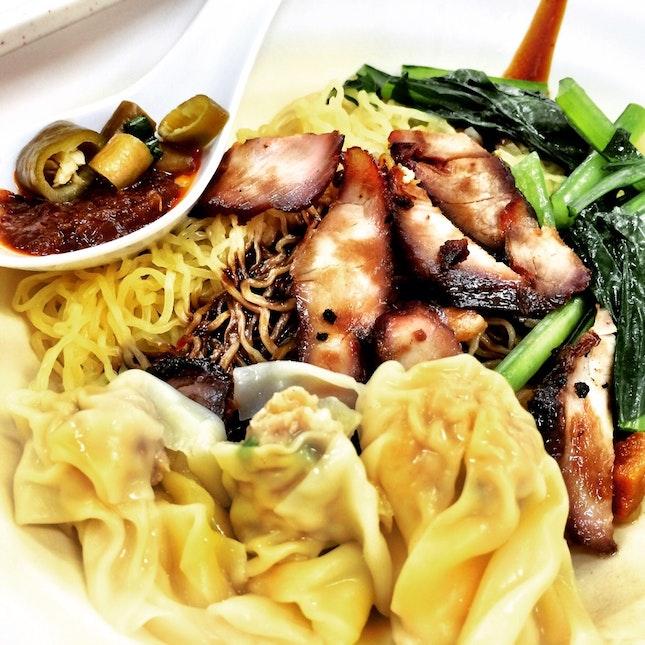 Char Siew Wanton Mee • $3