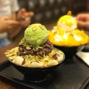 Green Tea Bingsu • S$18.90