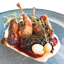 Brioche Stuffed Australian Quail | Part of Express Prix Fixe Menu @ $45++