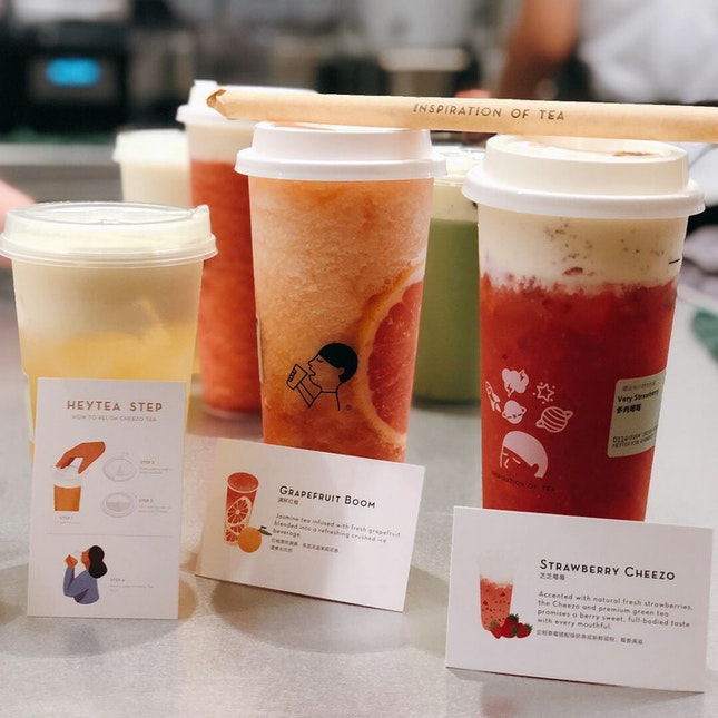 Cheezo Teas and Juices | $4.50 - 8.70