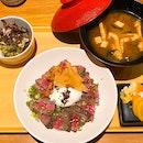 Gyu Set Lunch | $35++