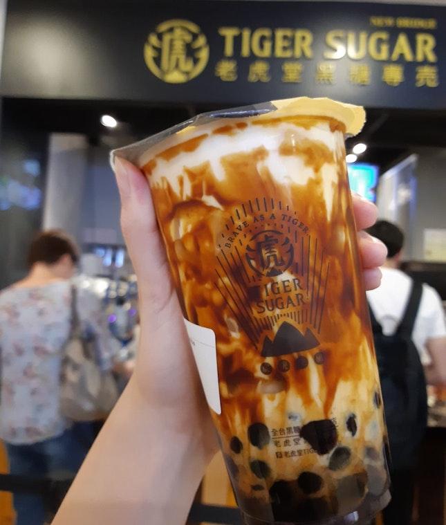 Tiger Sugar: Brown Sugar Boba Milk