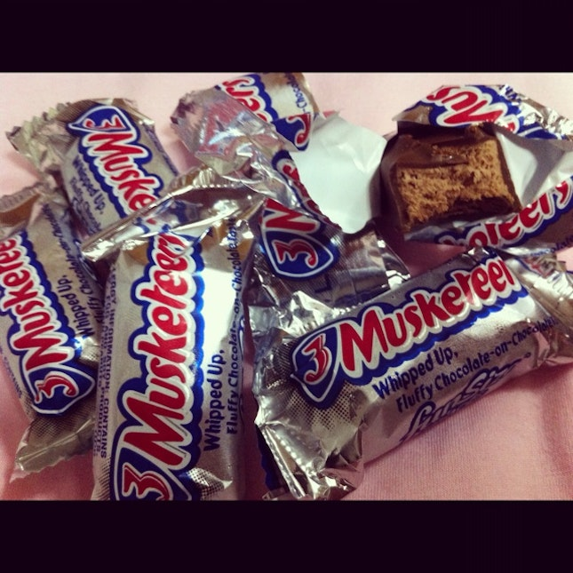 three musketeers my all time fave