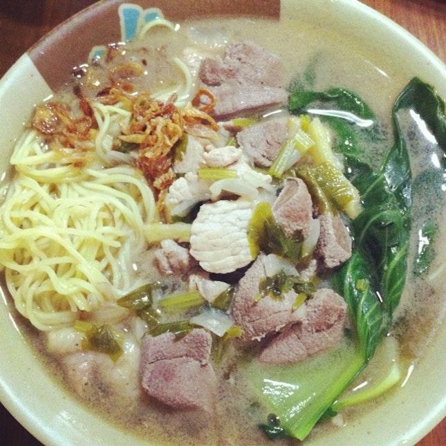 Batchoy Noodles Soup