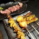 Wagyu Beef ($38/Back) & Kushiyaki ($3-$6/Front)