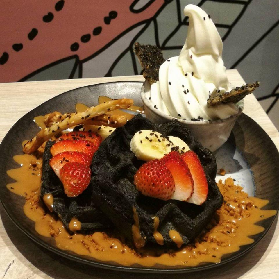 I Like These Mochi Waffles