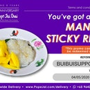 Free Mango Sticky Rice (With Min $30 Spend)
