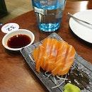 Thiccc Salmon Sashimi