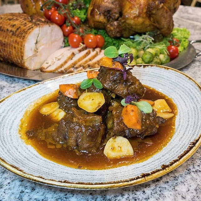 Soak up the festive spirit with a hearty Oxtail Stew!
