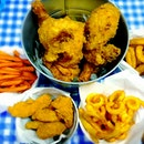 Family Meal (8 pcs of chicken, 8 chicken tenders + 3 sides)