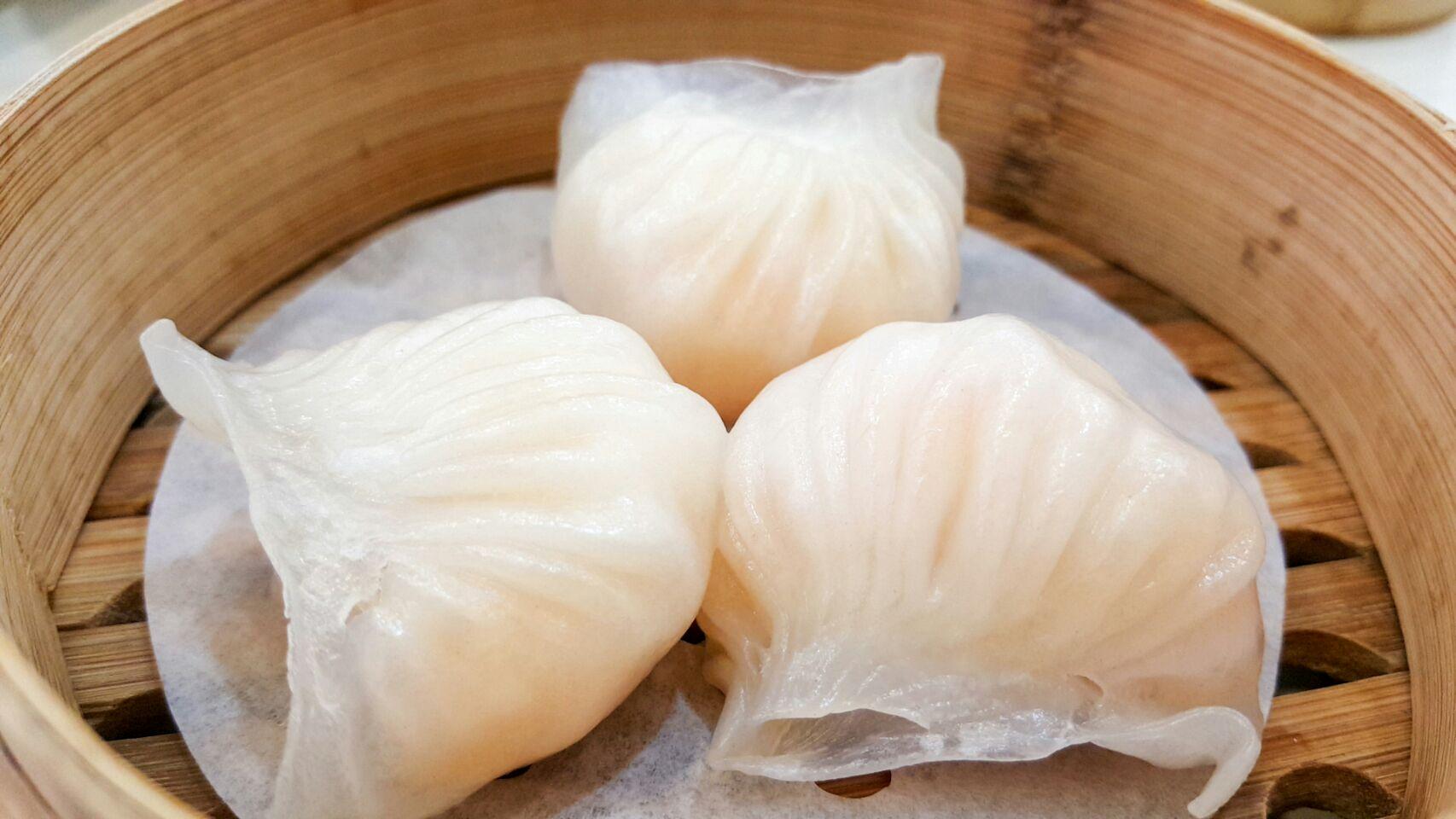 Steamed Prawn Dumpling ($4.20)