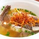 Cod Fish Soup ($10)