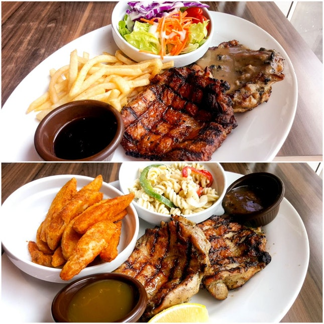 Double Up Chicken ($14.50)